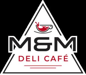 logo triangular m&m deli
